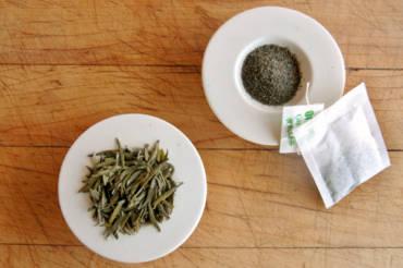 Brewing Tea bag Vs loose leaves