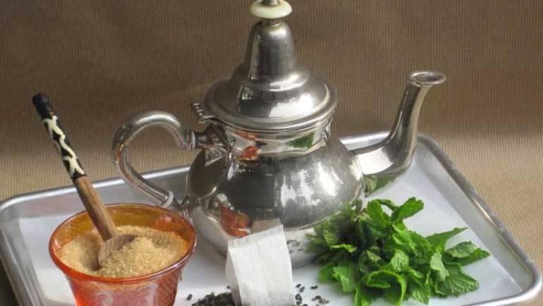 Morrocan Maghrebi Mint Tea